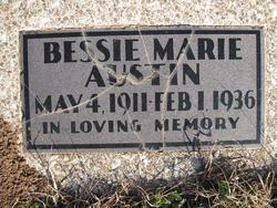 Bessie Marie Austin