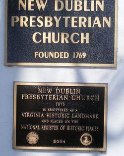 New Dublin Presbyterian Church Cemetery