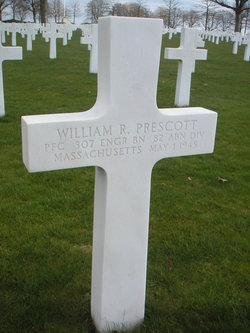 PFC William R Prescott