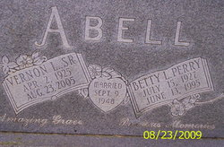 Betty Louise <i>Perry</i> Abell