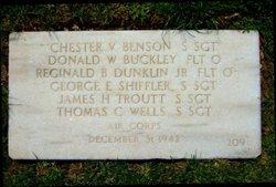 Chester V Benson