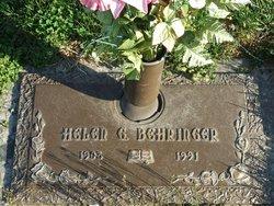 Helen G. Behringer