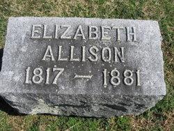 Elizabeth <i>Zeigler</i> Allison