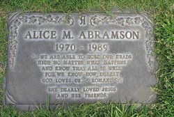 Alice Marie Abramson