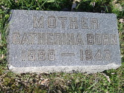 Catherine <i>Bensel</i> Born