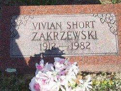 Vivian <i>Short</i> Zakrzewski
