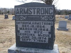 Georgina <i>McCue</i> Armstrong