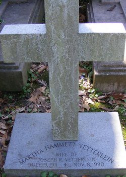 Martha Robinson <i>Hammett</i> Vetterlein