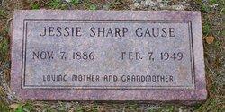 Jessie Sharp <i>Byrd</i> Gause