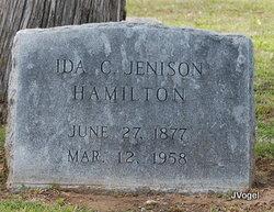 Ida C. <i>Elton Jenison</i> Hamilton