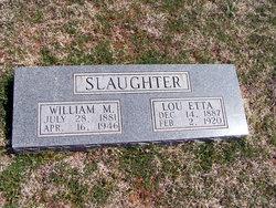 William M Slaughter
