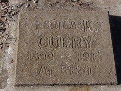 Louisa Kirklin <i>Jones</i> Curry