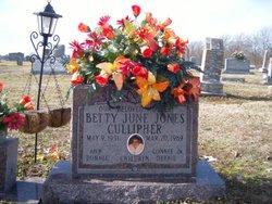 Betty June <i>Jones</i> Cullipher
