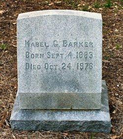 Mabel Grace <i>Kirkpatrick</i> Barker