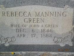 Rebecca Manning Green