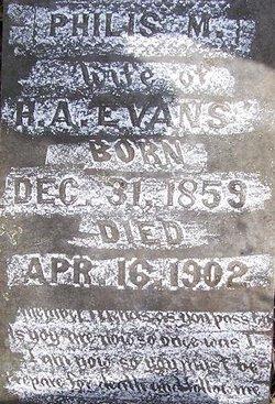 Philis M. Evans