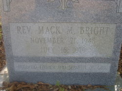 Rev Mack M. Bright