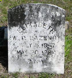 Elizabeth H. <i>Blackburn</i> Lazenby