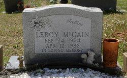 Leroy McCain