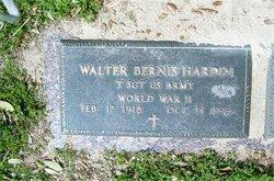 Walter Bernice Hardin