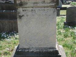 Matilda Frances <i>Nowland</i> Fulton