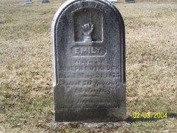 Emily Jane <i>Burchfield</i> Rothrock
