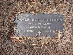 Doyle Wesley Henson