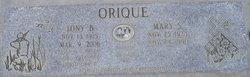 Tony B Orique