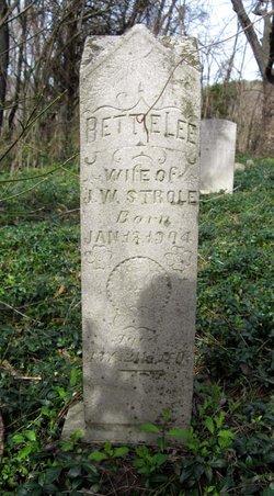 Bettie Lee <i>Foltz</i> Strole
