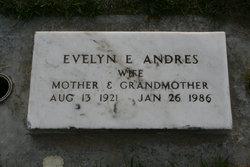 Evelyn E <i>Spencer</i> Andres