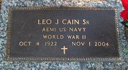 Leo Joseph Cain, Sr