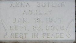 Ann <i>Butler</i> Ashley