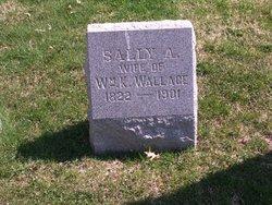 Sarah A. Sally <i>Smith</i> Wallace