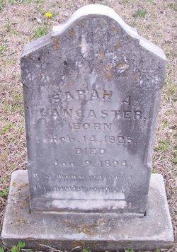 Sarah A. Lancaster
