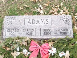 Warren Preston Adams