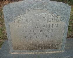 Pearl A. Allen
