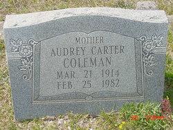 Audrey <i>Carter</i> Coleman