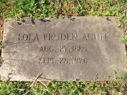 Lola <i>Pruden</i> Acuff