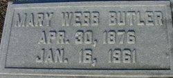 Mary <i>Webb</i> Butler