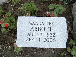 Wanda Lee <i>Dearing</i> Abbott