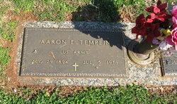 Aaron E Templin