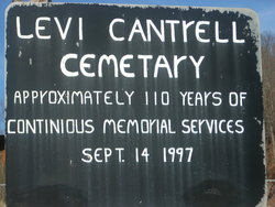 Levi Cantrell Cemetery