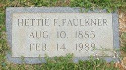 Hettie Ma or Aunt Hettie <i>Faulkner</i> Faulkner