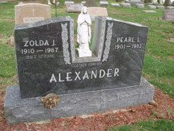 Zolda J Alexander