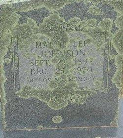Mattie Lee Johnson