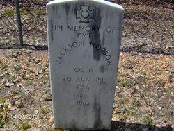 Pvt Jackson Hobson