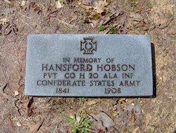 Pvt Hansford Hobson