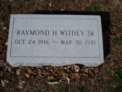 PFC Raymond Howard Withey, Sr