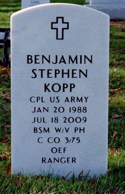 Corp Benjamin S Kopp