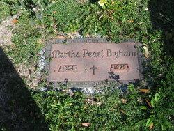 Martha Pearl Bigham